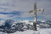 Gipfelkreuz Brechhorn ab Aschau