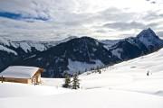 Skitour Brechhorn - Aussicht zum Rettenstein