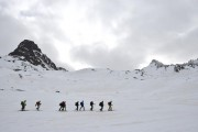 gleich nach der Hütte - Blick zur Dreiländerspitze