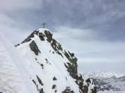 ein wunderbarer Gipfelanstieg - das Silvrettahorn