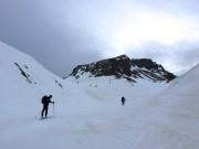 Aufstieg zur Tiroler Scharte von der Wiesbadener Hütte
