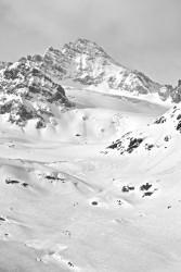 Die Dreiländerspitze von der Jamtalhütte