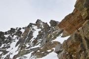 Gipfelgrat mit Kletterpassagen
