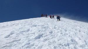 069.im Steilen Aufstieg zum Ostgipfel