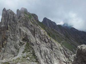Blick zur Kuhljochspitze