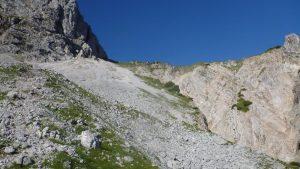 Blick zum Wörnersattel