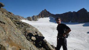38.Michi vor Gletscher