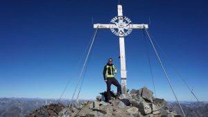 52.Michi am Gipfelkreuz