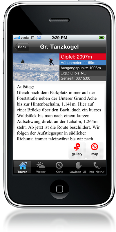 tourenwelt blog blog archiv skitouren app f r iphone. Black Bedroom Furniture Sets. Home Design Ideas